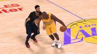 巅峰奥胖 VS 戴维斯 NBA2K19
