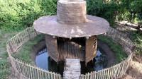 荒野生存 生存哥 建造 池塘小屋
