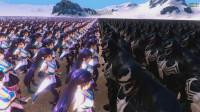 史诗战争模拟器: 4000毒液大战10000美女, 会发生什么?