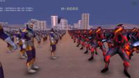 史诗战争模拟器: 5000个奥特之王遇到5000个贝利亚奥特曼, 谁能赢