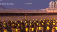 史诗战争模拟器: 火影鸣人召唤30000个影分身, 挑战1000个路飞