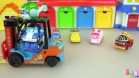 【变形警车珀利2019】麦昆汽车总动员和珀利警车超级英雄