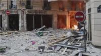突发! 法国巴黎市中心发生爆炸 街道上一地狼藉