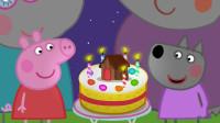 小猪佩奇和同学们一起给小羊温蒂过生日