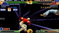 拳皇98c  决战三问: 韩国BJ使出死神七枷社, 临场场控能力堪称一绝!