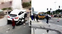 广东汕尾发生道路交通事故致2死3伤