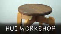 【作品】DIY爱好者也可以实现量产! 利用模具复制N张圆凳~晖木工坊~