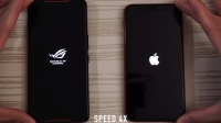 ROGPhone速度对比苹果XR、游戏手机杀过来了苹果手机表现如何呢?