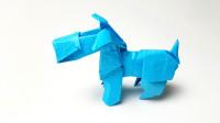 折纸王子折纸雪纳瑞犬5, 形象折纸猎狐梗狗, 帮孩子动手动脑