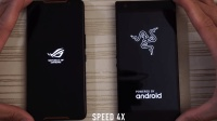 ROGPhone速度对比雷蛇手机2、游戏手机的对比有没有感觉很激烈呢?