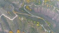 青海西宁城市风光自然景观航拍摄影