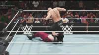 布洛克暴揍凯恩后他突然出现了! WWE2K19
