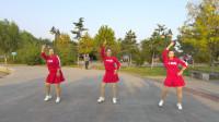 广场舞《38度6》, 舞姿优美, 动作整齐好看的摆胯步子舞