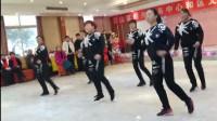 鬼步舞《俏俏的一朵花》【淮北市烈山区年会节目】