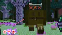 我的世界虚无世界107: 传说世界背甲兽给力, 能免疫枪和剑的伤害
