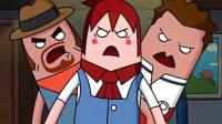 搞笑吃鸡动画: 马可波自己先挂了还对队友指手画脚, 结果被队友群殴