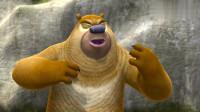 熊出没: 光头强熊二真有缘, 这么偏的山都能相遇!
