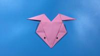折纸课堂: 简易小狐狸脸谱