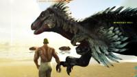 方舟生存进化-原始恐惧篇1被按地摩擦的龙骑士