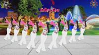 阳光美梅原创广场舞【触不到你的温柔】抒情32步-背面演示-编舞: 美梅