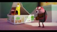 爆笑虫子: 虫子被困冰箱, 寒冷无比, 只能靠舞蹈取暖