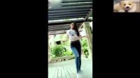爱运动的小姐姐热舞, 完美的舞姿让我喜欢上她!