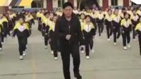 校长带学生跳鬼步舞:学校没人会,我就自己教 九点半 20190119