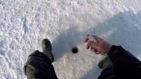 户外 冰钓 冬季钓鱼