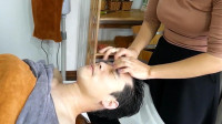 越南理发按摩 那叫一个享受