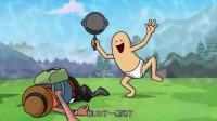 搞笑吃鸡动画: 瓦特牺牲自己成全霸哥, 霸哥好不容易出毒圈却被人阴了