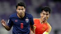 稍显大意!泰国角球拔得头筹素巴猜门前混战抽射打进,泰国1-0中国 2019亚洲杯 1/8决赛 泰国VS中国 1