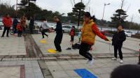 亲子互动游戏-跳跳绳比赛-亲子萌宝 儿童游戏