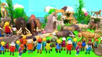 参观动物园认识哺乳动物