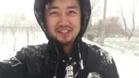 陕西农村下雪了,常年在外地的我们跑出来玩雪,回忆小时候!