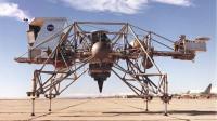 NASA造怪异飞行器,能模拟月球重力环境,宇航员以此练习登月