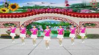 阳光美梅原创广场舞【32号嫁给你】网红摆胯步子舞正背面附教学-编舞:美梅