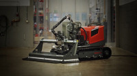 拆楼机器人你见过吗?把混凝土当饭吃,废弃钢筋还能回收再建房