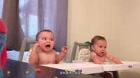 若家里有两个萌宝,会有着怎样有趣的事情发生呢?