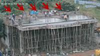 真正的豆腐渣工程,假如没有监控拍下,这画面谁信!
