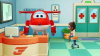超级飞侠亲子游戏之乐迪医院 小朋友玩耍不小心受伤了