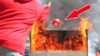 """泰国发明""""火灾精灵球""""把它扔进火场, 就能降伏大火, 也不怕火灾了"""