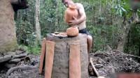 东东爱猎奇 在荒野求生中用上原始技术的才是厉害,饿不死