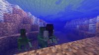 水怪缠身必死无疑——甜萝酱我的世界Minecraft《生活大冒险之刀尖上的美食城》#2