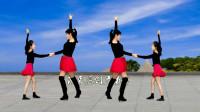 双人舞恰恰32步《溜溜的她》老歌新跳更好看,附分解教学