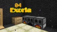 我的世界《超难魔改包Exoria多模组生存Ep4 石头克星》Minecraft 安逸菌解说