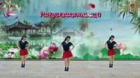 阳光美梅原创广场舞【大美妞】简单步子舞附教学-编舞:美梅-2019最新广场舞