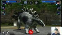 侏罗纪世界直播实况 剑龙VS矮脚龙