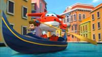 超级飞侠趣味拼拼乐 乐迪和小朋友一起划船