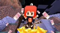 百万富婆——甜萝酱我的世界Minecraft《生活大冒险之刀尖上的美食城》#3