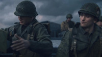 【使命召唤14】全程通关流程01,诺曼底登陆战,丹尼尔斯的好友祖斯曼身受重伤